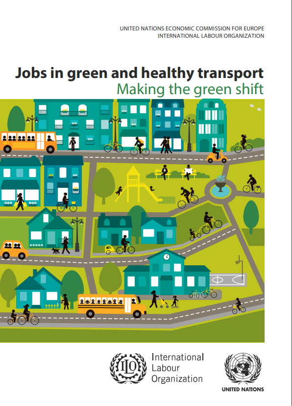 Jobs in green and healthy transport