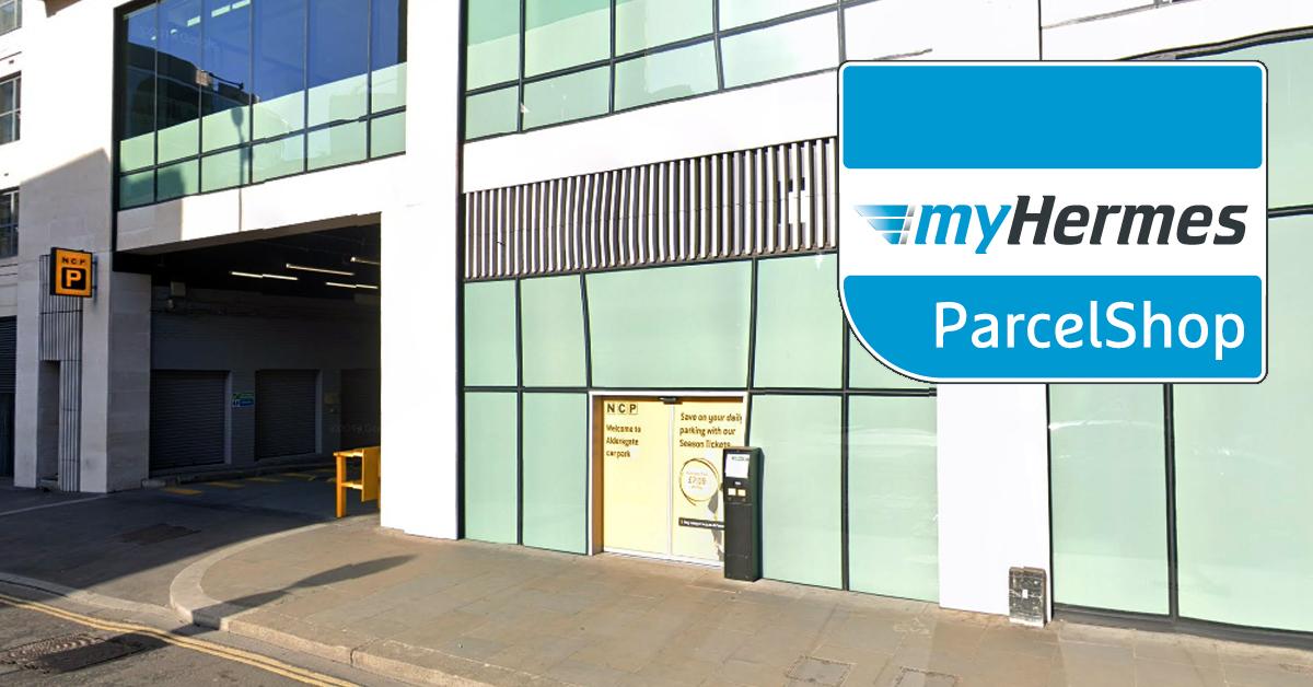 NCP Hermes ParcelShop Barbican