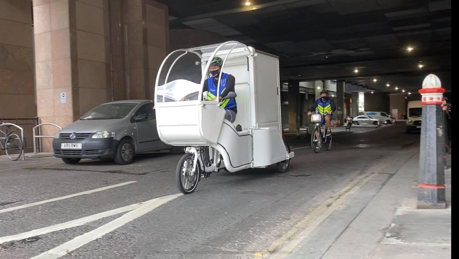 Micro Hub Cargo Bike