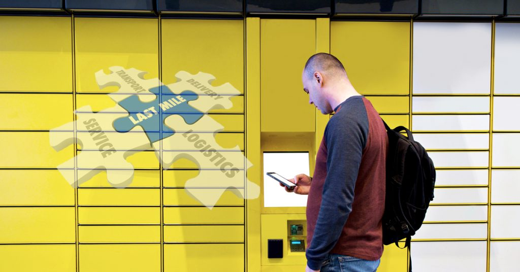 Parcel lockers smart city Infinium Logistics Solutions