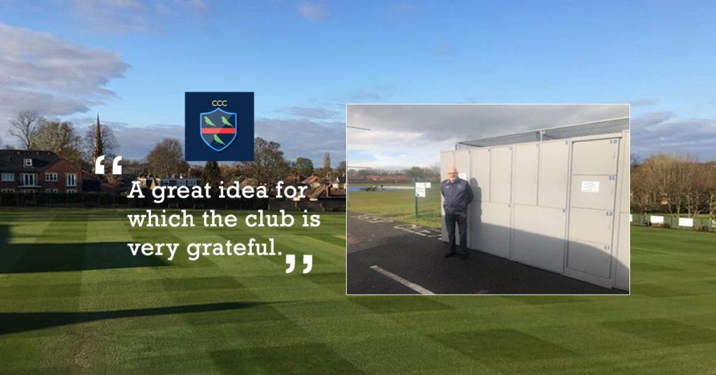 Chester Le Street Cricket Club Receives an Alternative Revenue Stream For Hosting a Parcel Locker.